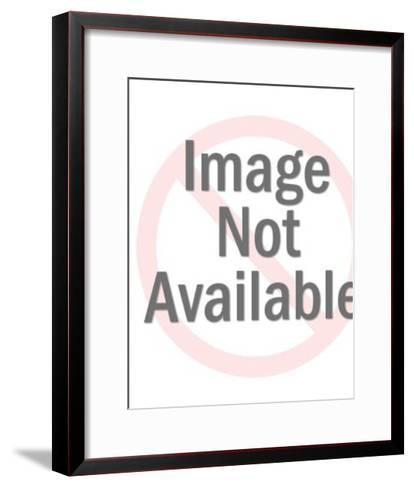 Woman Pouring Water From Vessel-Pop Ink - CSA Images-Framed Art Print