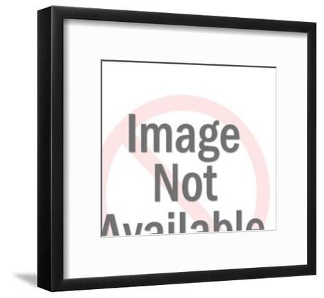 Couple Dancing in Spotlight-Pop Ink - CSA Images-Framed Art Print