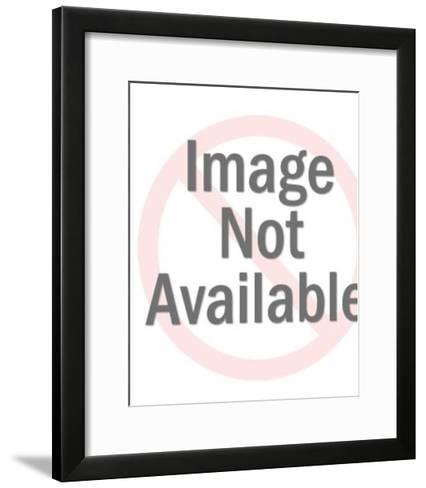 Profile of an Astronaut-Pop Ink - CSA Images-Framed Art Print