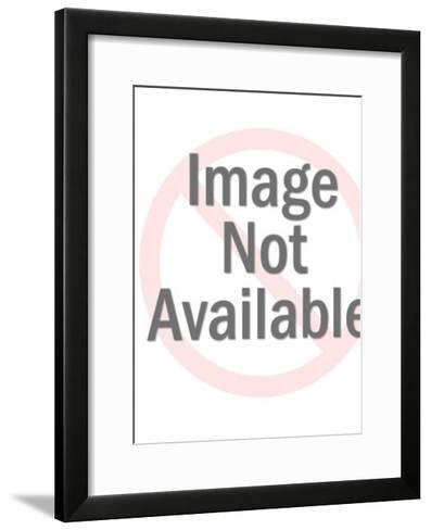Butler and Maid Helping Woman-Pop Ink - CSA Images-Framed Art Print