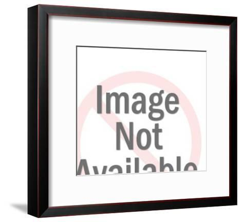 Scientist Looking at Monitor-Pop Ink - CSA Images-Framed Art Print