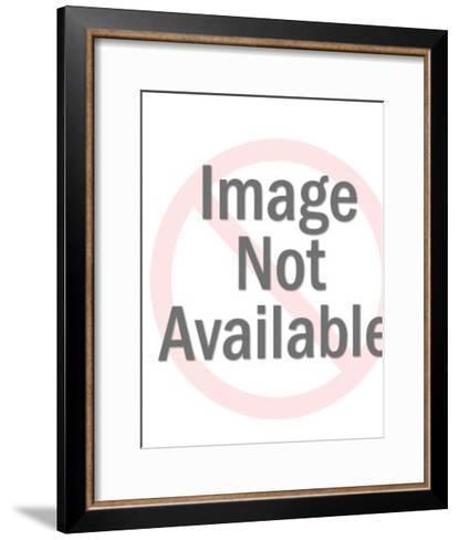 Woman in Heart Bikini-Pop Ink - CSA Images-Framed Art Print