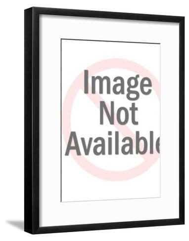 Man Looking at Woman in Green Dress-Pop Ink - CSA Images-Framed Art Print