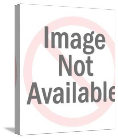 Women's Purple Shoes-Pop Ink - CSA Images-Stretched Canvas Print