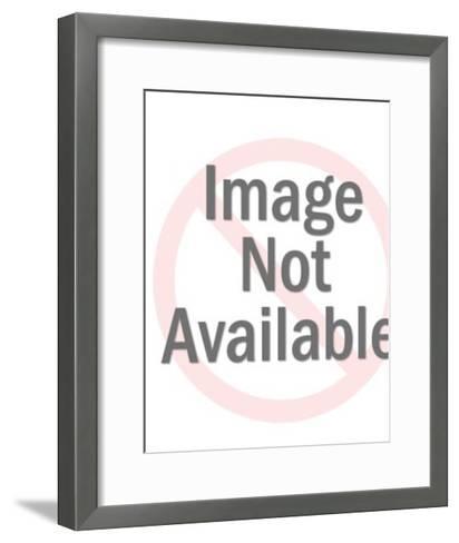 Nude Woman Sitting on Floor-Pop Ink - CSA Images-Framed Art Print