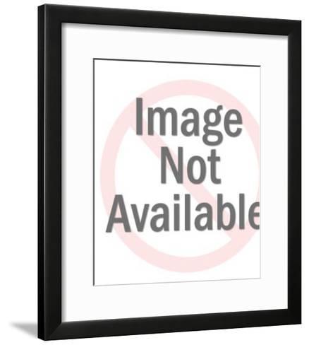Blue Jay Sitting on Branch-Pop Ink - CSA Images-Framed Art Print