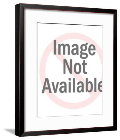 Diver-Pop Ink - CSA Images-Framed Art Print