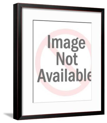Moths, Mushroom and Flowers-Pop Ink - CSA Images-Framed Art Print