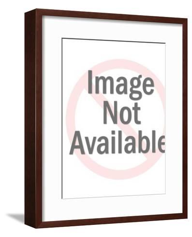 Traffic Signal on Post-Pop Ink - CSA Images-Framed Art Print