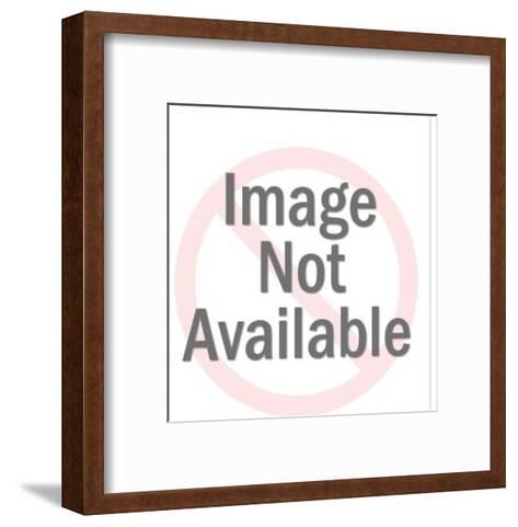 Taping Package Shut-Pop Ink - CSA Images-Framed Art Print