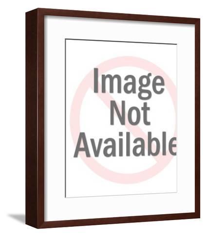 Red Burst-Pop Ink - CSA Images-Framed Art Print