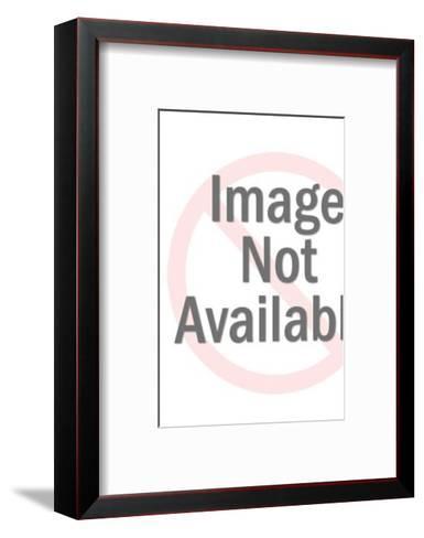 Wise Owl-Pop Ink - CSA Images-Framed Art Print