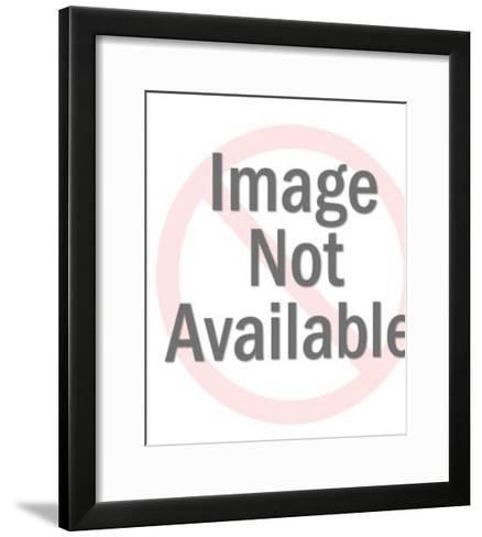Genie Granting a Wish of a Diamond-Pop Ink - CSA Images-Framed Art Print