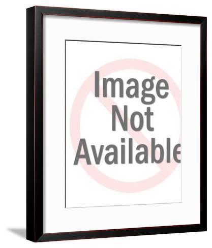 Man Holding a Gift-Pop Ink - CSA Images-Framed Art Print