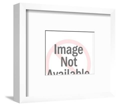 Sailboat at Sea in a Storm-Pop Ink - CSA Images-Framed Art Print