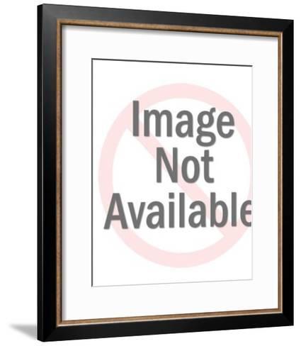 Bright Lightbulb-Pop Ink - CSA Images-Framed Art Print