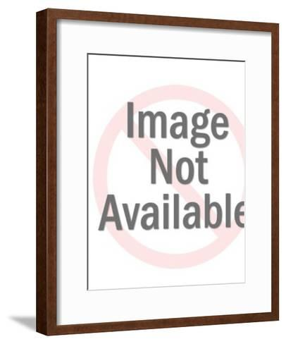 Green Spaceman-Pop Ink - CSA Images-Framed Art Print