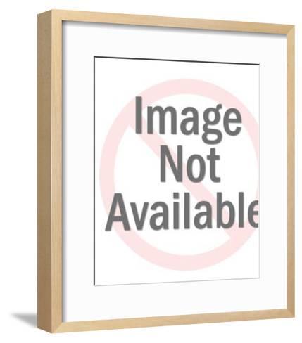 Sitting Bulldog-Pop Ink - CSA Images-Framed Art Print
