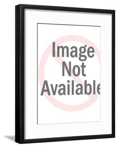 Gold Theater Mask-Pop Ink - CSA Images-Framed Art Print