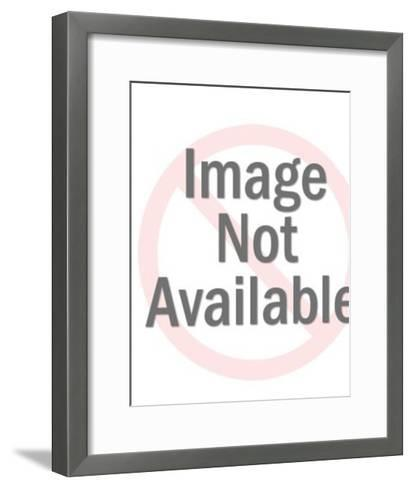 Split Head-Pop Ink - CSA Images-Framed Art Print