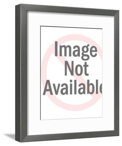 Black Accordion Cat-Pop Ink - CSA Images-Framed Art Print