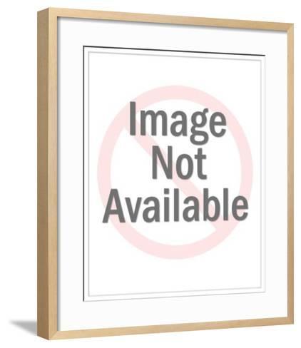 Baseball Catcher Wearing Mitt-Pop Ink - CSA Images-Framed Art Print