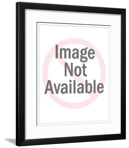 Man Playing Golf-Pop Ink - CSA Images-Framed Art Print