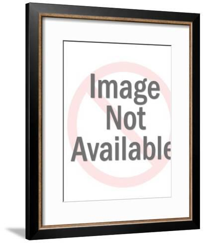 Angel with Banner-Pop Ink - CSA Images-Framed Art Print
