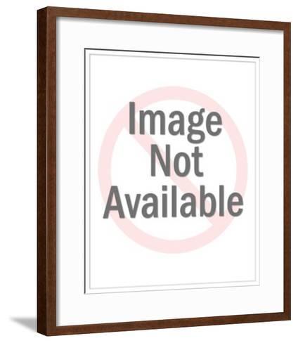 Nude Baby Kneeling-Pop Ink - CSA Images-Framed Art Print
