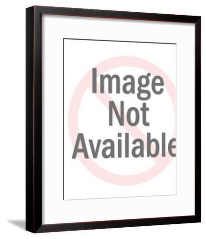Female Mask-Pop Ink - CSA Images-Framed Art Print