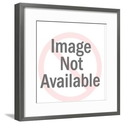 Silver Pig-Pop Ink - CSA Images-Framed Art Print