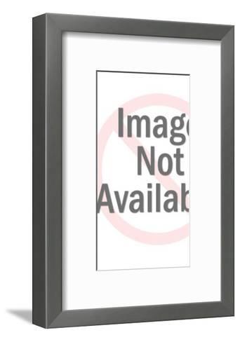 Man in Suit Waving-Pop Ink - CSA Images-Framed Art Print