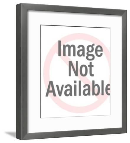 Angry Bald Man-Pop Ink - CSA Images-Framed Art Print