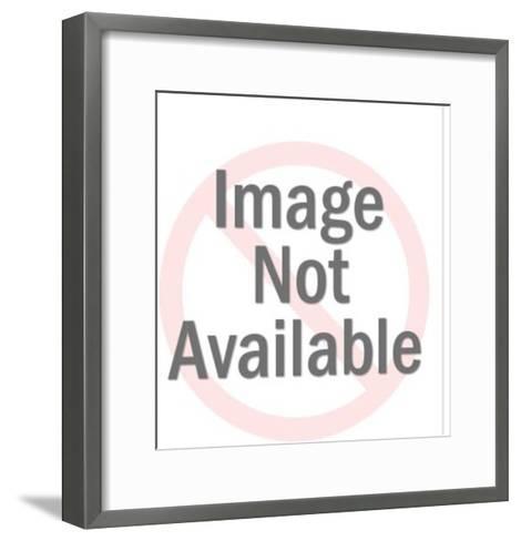 Space Ray Gun-Pop Ink - CSA Images-Framed Art Print
