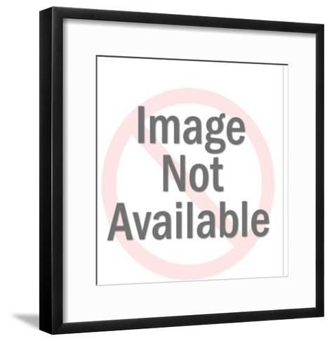 Atlas Man Holding Up World-Pop Ink - CSA Images-Framed Art Print