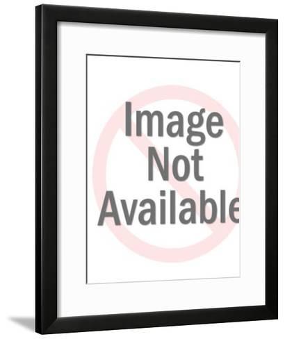 Angel and Lamb-Pop Ink - CSA Images-Framed Art Print