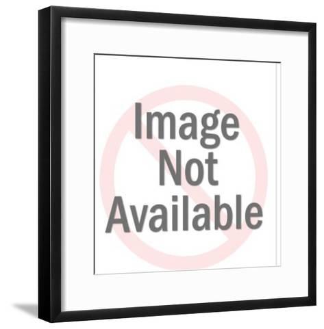 Man Wearing Space Suit and Helmet-Pop Ink - CSA Images-Framed Art Print