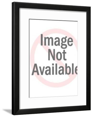 Plastic Transparent Mask-Pop Ink - CSA Images-Framed Art Print