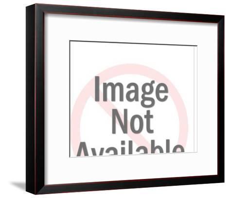 Back View of Man Walking-Pop Ink - CSA Images-Framed Art Print
