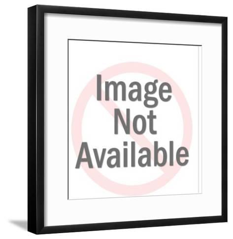 White Spider-Pop Ink - CSA Images-Framed Art Print