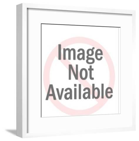 Three Bunnies-Pop Ink - CSA Images-Framed Art Print