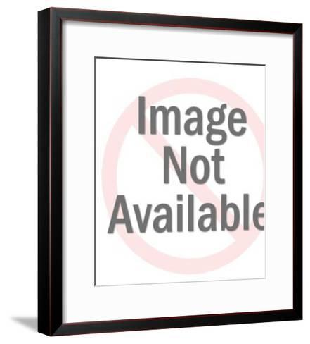 Couple at Drive in Movie-Pop Ink - CSA Images-Framed Art Print