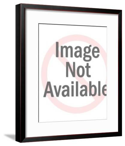 Grey Elephant-Pop Ink - CSA Images-Framed Art Print