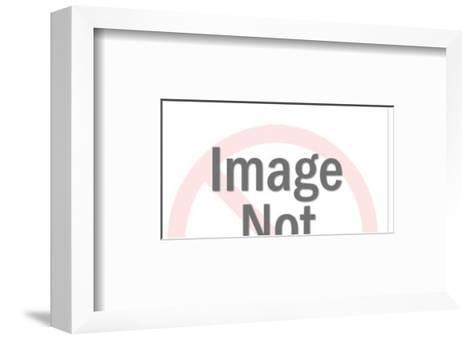 Blue Laser Gun-Pop Ink - CSA Images-Framed Art Print