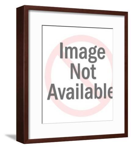 Yellow Slot Machine-Pop Ink - CSA Images-Framed Art Print