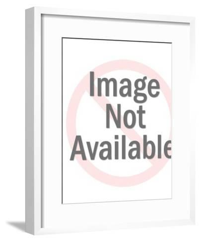 Smoking Pig-Pop Ink - CSA Images-Framed Art Print