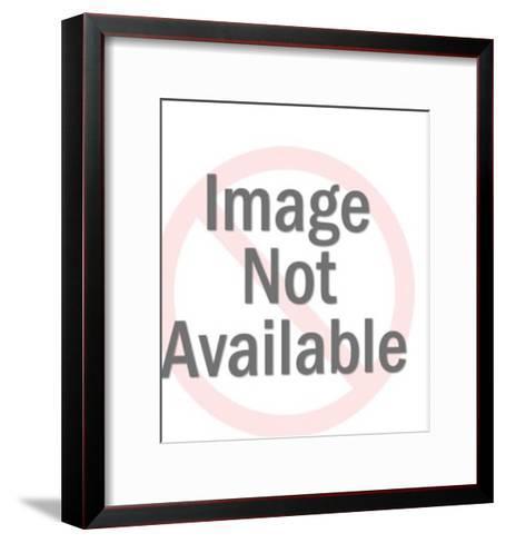 Male Doll Head-Pop Ink - CSA Images-Framed Art Print