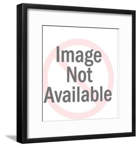 Silver Man Wearing Globe Glasses-Pop Ink - CSA Images-Framed Art Print