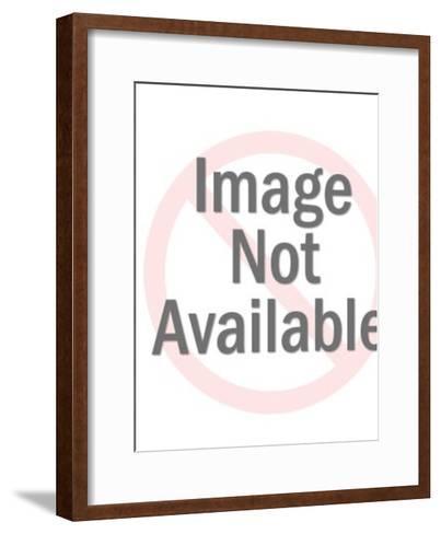 Rolling Robot-Pop Ink - CSA Images-Framed Art Print