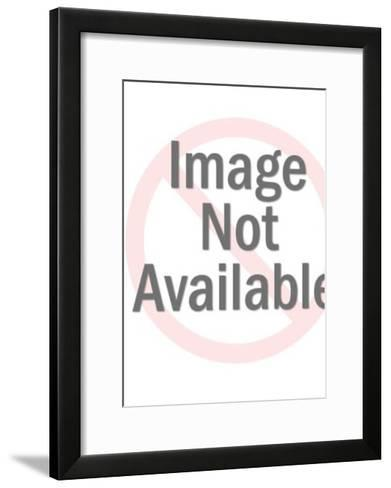 Referee Throwing Yellow Flag-Pop Ink - CSA Images-Framed Art Print